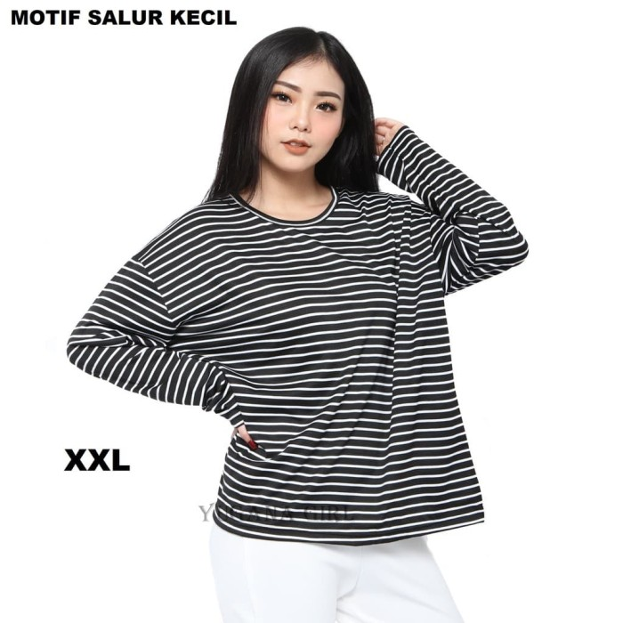 Foto Produk Blouse Wanita Kekinian / Kaos Wanita Jumbo XL-XXL dari DophinoStore