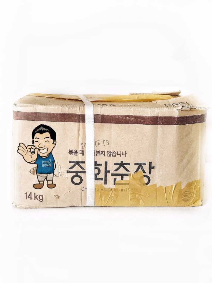 harga Daesang chunjang black bean paste- jajangmyeon pasta hitam 14kg Tokopedia.com