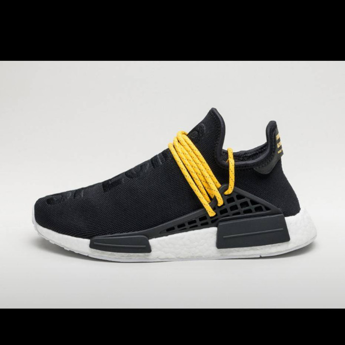 22829efb1 Jual Sepatu Sneakers Adidas NMD Human Race Black Yellow Premium ...