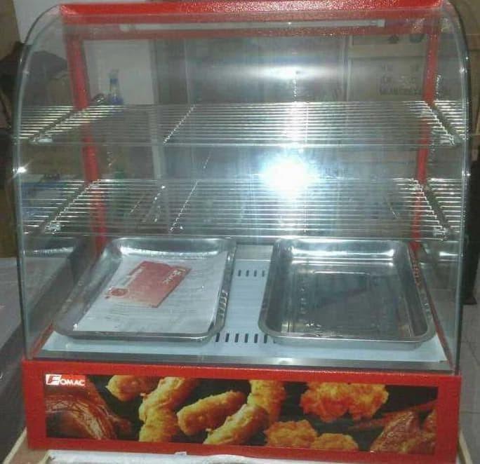 Pajangan Makanan Display Warmer Fomac Shc dh 827 Ready Stok