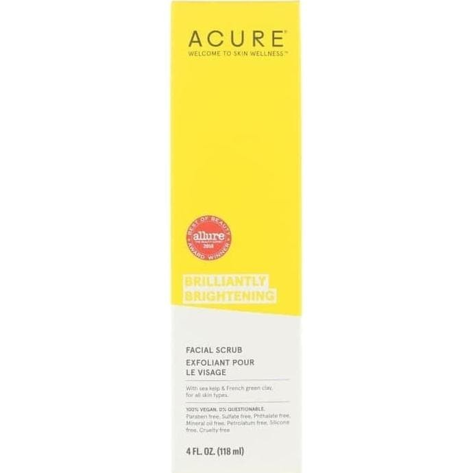 Jual Acure Organics Brilliantly Brightening Facial Scrub