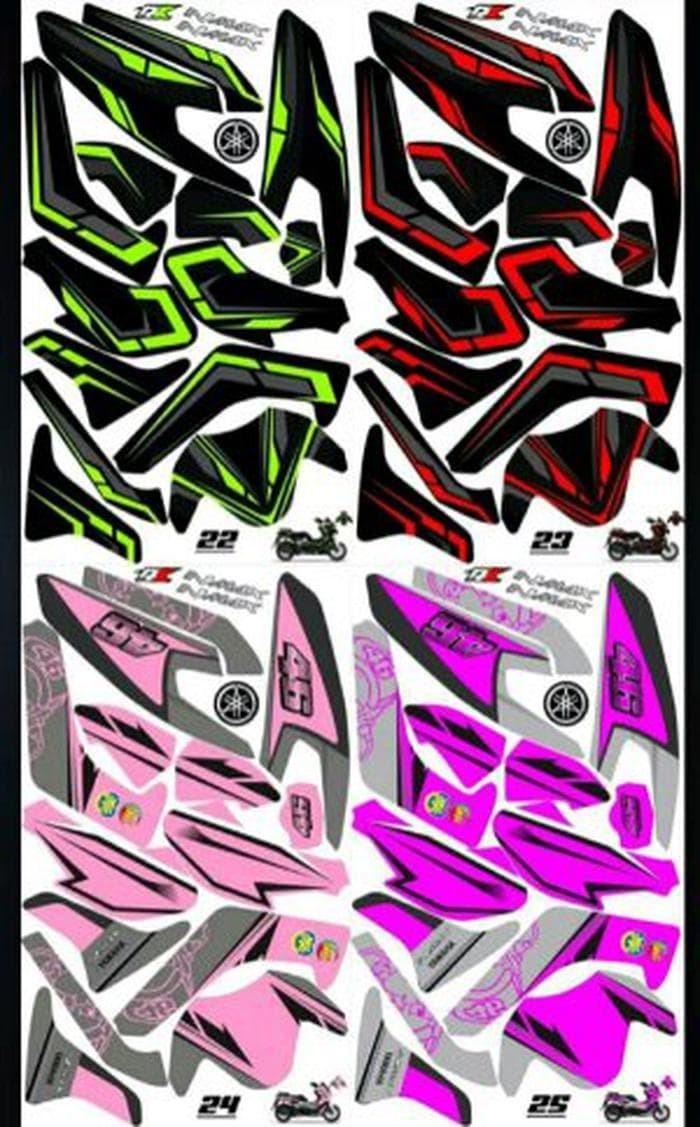 Sticker decal striping fullbody nmax terbaik