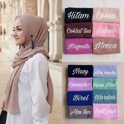 Jual Jilbab Pashmina Sabyan Diamond Italiano Hijab Segi Empat Kota Tasikmalaya Putriberkah29 Tokopedia