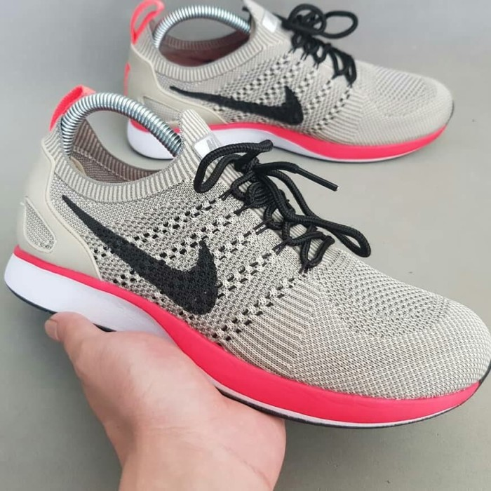 pretty nice 40882 a77ae NIKE FLYKNIT RACER MARIAH Apricot and White Silver