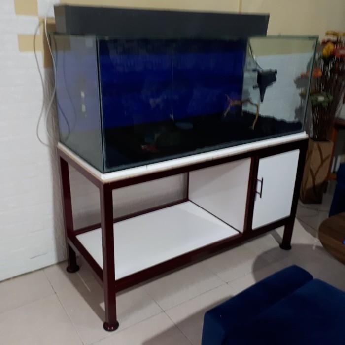 Jual Meja Aquarium Minimalis Kab Garut Wwcf Tokopedia