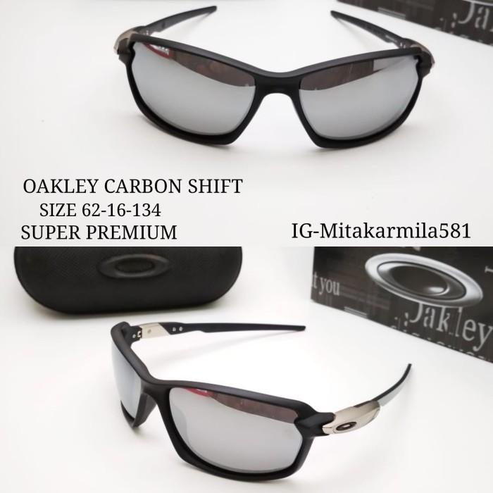Kacamata sunglasses fashion pria oakley carbon Shift lensa polarized - af25d78997