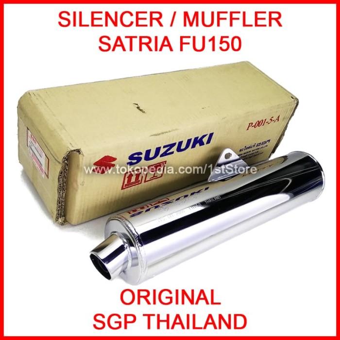 harga Silencer knalpot satria fu150 fu original sgp cbu thailand muffler ori Tokopedia.com