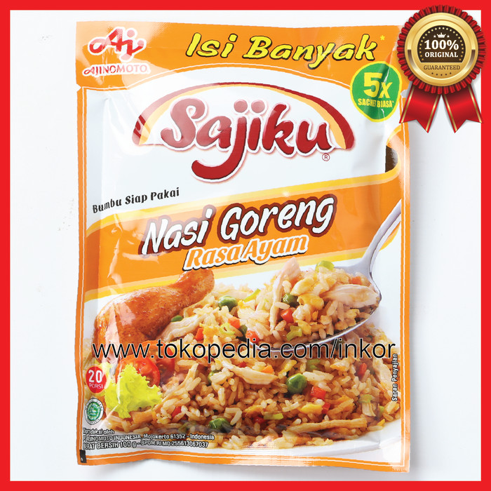 Sajiku bumbu nasi goreng rasa ayam sachet 10x20gr