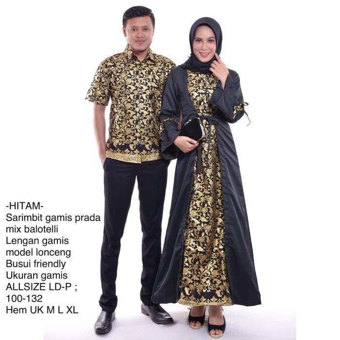 Desain Baju Couple Terbaru Warna Hitam | Ide Perpaduan Warna
