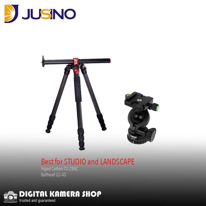harga Tripod jusino tsi-284 carbon fibre + ballhead gs-40 Tokopedia.com