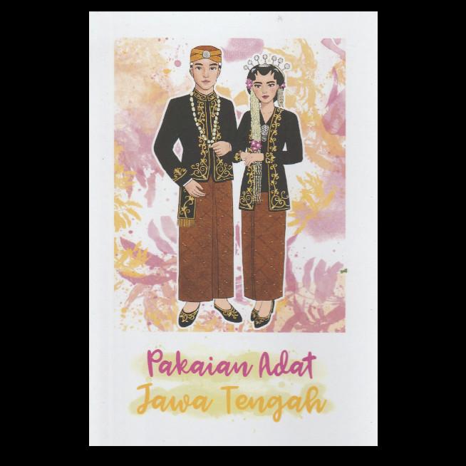 Jual Postcard Pakaian Adat Jawa Tengah Kartupos Snailmail Kebaya Ilustrasi Kota Depok Manifesto Letters Crafts Tokopedia