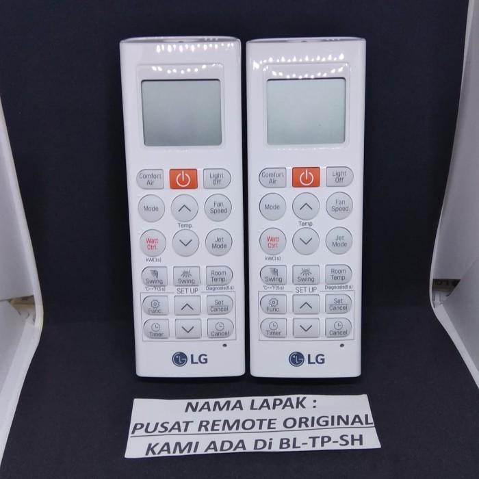 harga Remote remot ac lg inverter akb75075801 original asli Tokopedia.com
