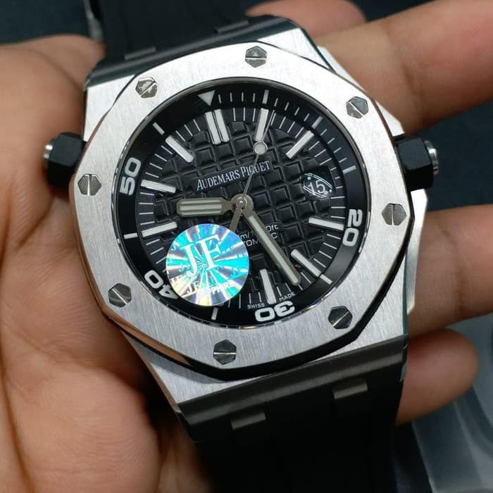 Jual Audemars Piguet Offshore Diver Black Dial Swiss Clone 1 1 Jf V8