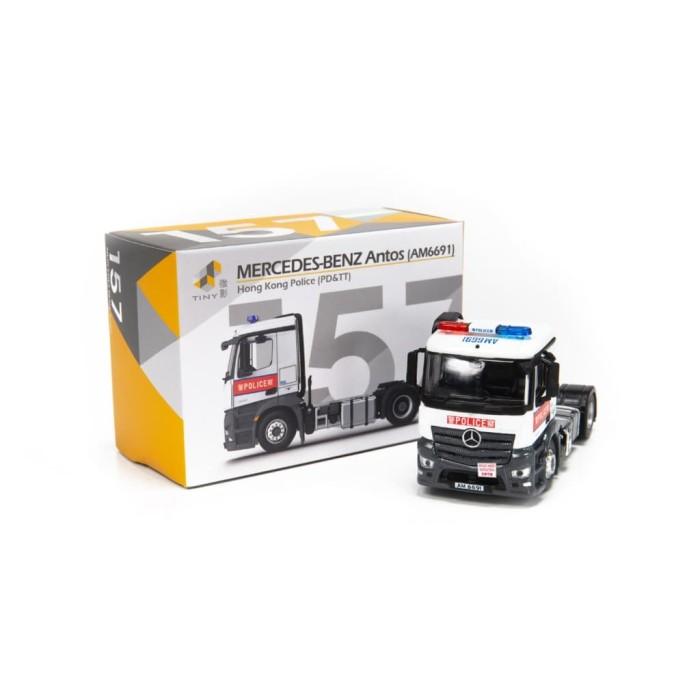 harga Tiny diecast 157 mercedes benz antos police (am6691) Tokopedia.com