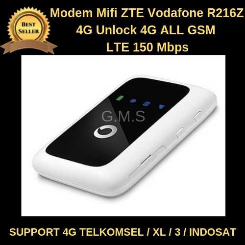 Jual A90512 Modem Mifi ZTE Vodafone R216Z 4G LTE Unlock 4G ALL GSM LTE 150M  - Jakarta Selatan - ThePermana's   Tokopedia