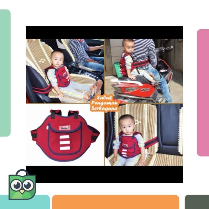 Sabuk pengaman anak serbaguna bisa dipakai saat dimobil dan di motor