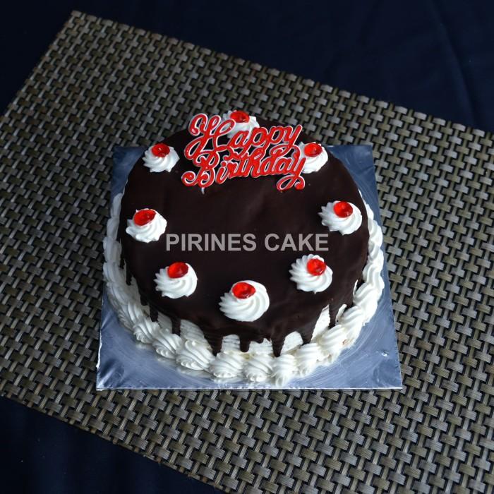 Jual Ready Stock A Kue Tart Blackforest Ulang Tahun 15x15 Incl Pisau Lilin Kota Tangerang Pirines Cake Tokopedia
