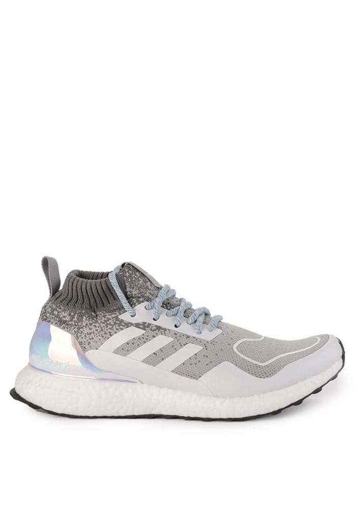 sports shoes c2ea7 2b6ac Original Sepatu Adidas Ultraboost Mid - Light GraniteSilver Metallic