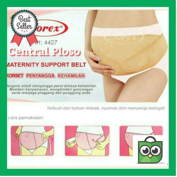 KUALITAS SUPER KORSET IBU HAMIL MATERNITY SUPPORT BELT BY SOREX DON