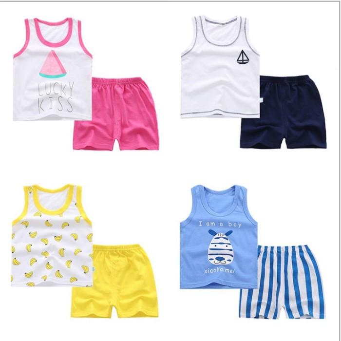harga Baju setelan kutang playful anak cowok import Tokopedia.com