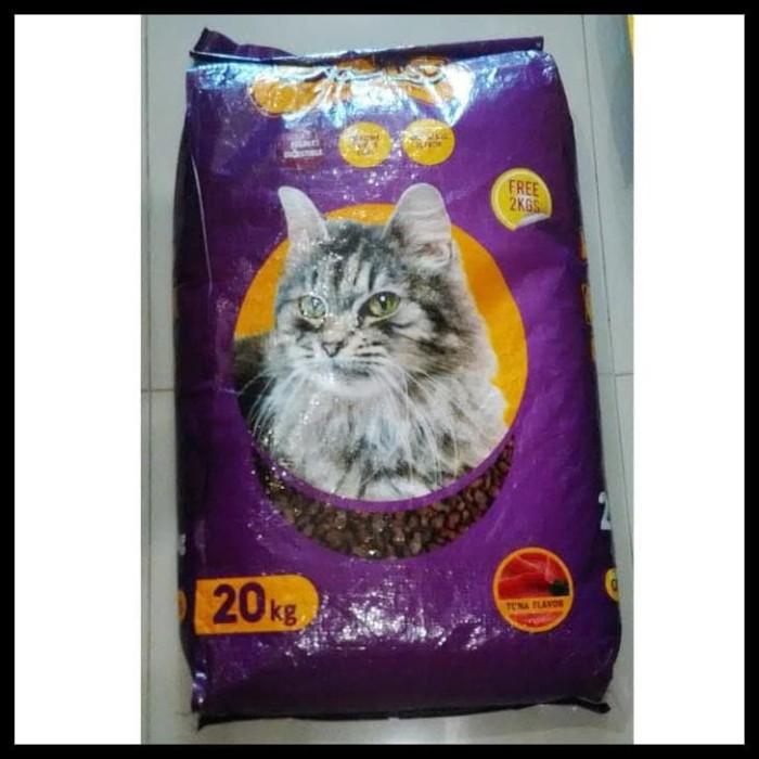 Jual Hot Sale Makanan Kucing Bolt Repack 1kg Bentuk Ikan