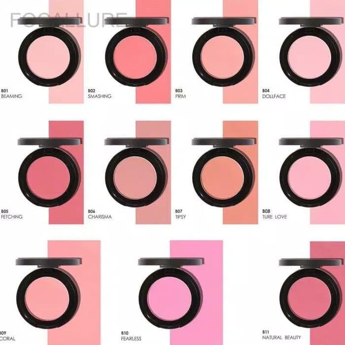 Focallure blush on 11 warna single blush on
