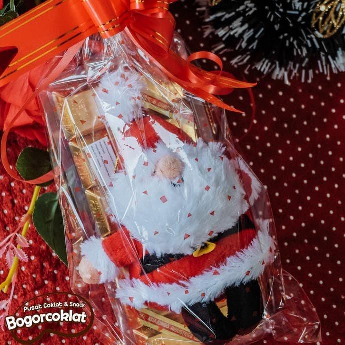 Jual Hadiah Natal Teddy Christmas Dan Coklat Emas Batangan
