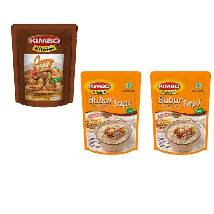 harga Kimbo kitchen (bubur lauk) [paket 14] Tokopedia.com
