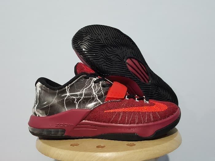 1994d1acf30e Jual Sepatu Basket Nike zoom KD 7 Thunder Red - BN.SportStation ...