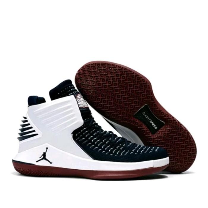 e5afbf3181 Jual Terlaris Nike Air Jordan 32 Flight Speed White Black - Mutiara ...