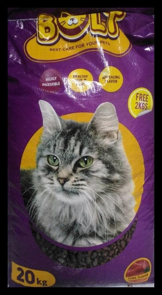 PROMO SPECIAL Makanan Kucing Bolt Murah Cat Repack 1 kg Cat Food Tuna