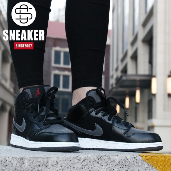 newest collection 954e1 1093c  Cncontact  Ready Authentic Nike Air Jordan 1 couple basketball shoes