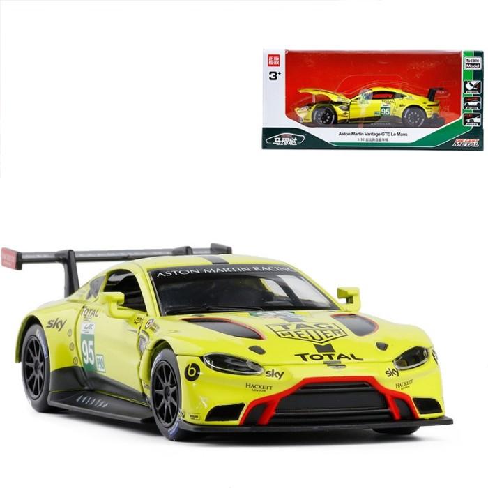 Jual 32 Model Aston Martin Vantage Gte Le Mans Warna Kuning 95 Diecast Jakarta Timur Thelyponus Shop Tokopedia