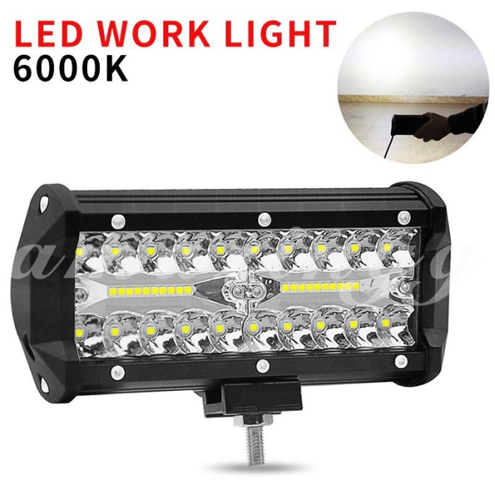 Led Lights For Cars >> Jual Ama Led Lighting Lamp Cars Off Road Lights Car Work Light Universal Chelifer Shop Tokopedia