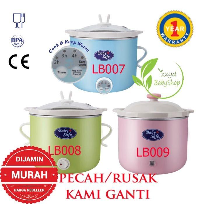 Baby safe Digital Slow Cooker LB007 LB008 LB009