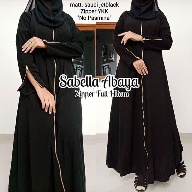 30 Abaya Arab Hitam Polos Model Baju Gamis Celana Sepatu