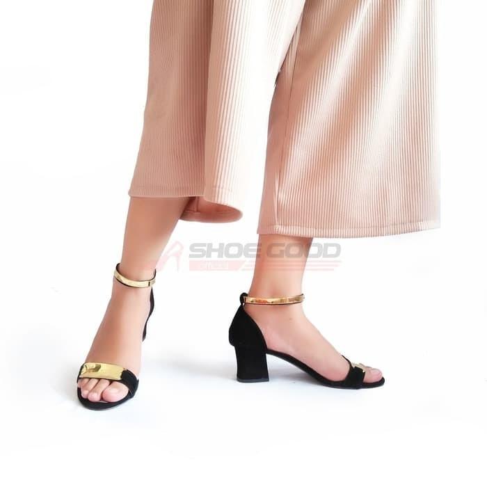 High Heels Gelang Sepatu Heels Hak Tahu Tb Cb Pink - Katalog Harga ... 18215f9c79