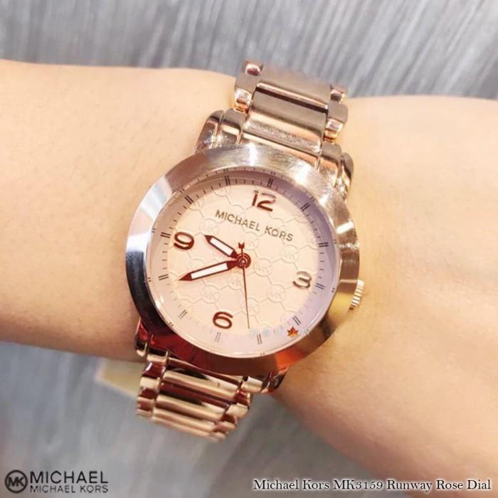 ffb4ac706874 Jual Jam Michael Kors MK3159 Runway Rose Dial Original Watch ...