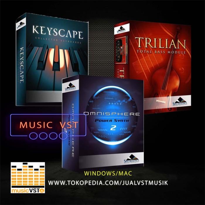 Jual VST Keyscape Omnisphere Trililan DVD Win - DKI Jakarta - MUSIC VST |  Tokopedia