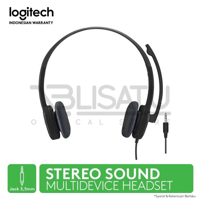 Logitech H151 Stereo Headset With Mic Headphone Earphone | Shopee Indonesia. Source · Produk dari Brand Resmi