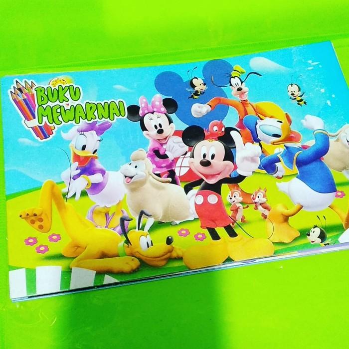 Jual Buku Mewarnai Mickey Mouse Dki Jakarta Navity Mart Jkt