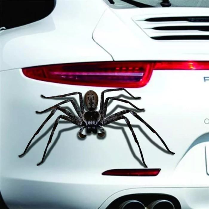 harga Aksesoris sticker 3d mobil motor jenis laba laba tarantula spider Tokopedia.com