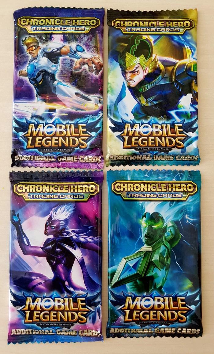 Jual Mainan Kartu Mobile Legend 1 Bungkus Isi 12 Kartu Kab Tangerang PennyPenno