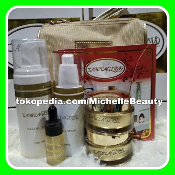 New Paket Tabita Glow Exclusive 40gr + Bonus Serum Tabita