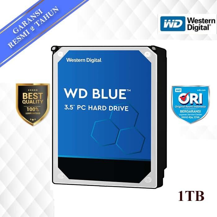 "Foto Produk WD Caviar Blue 1TB - HD HDD Hardisk Internal 3.5"" For PC dari WD Official Store"