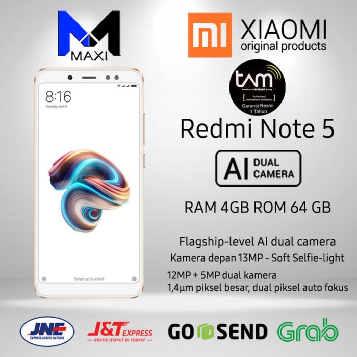 harga Xiomi redmi note 5 ram 4/64 garansi resmi tam Tokopedia.com