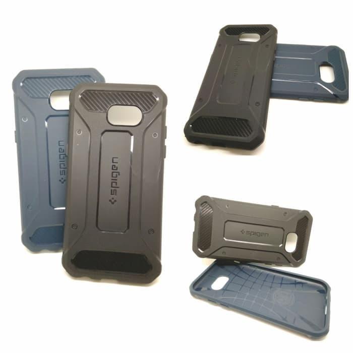 Spigen Rugged Capsule Case Samsung Galaxy A520 / A5 (Soft Case) - Hitam