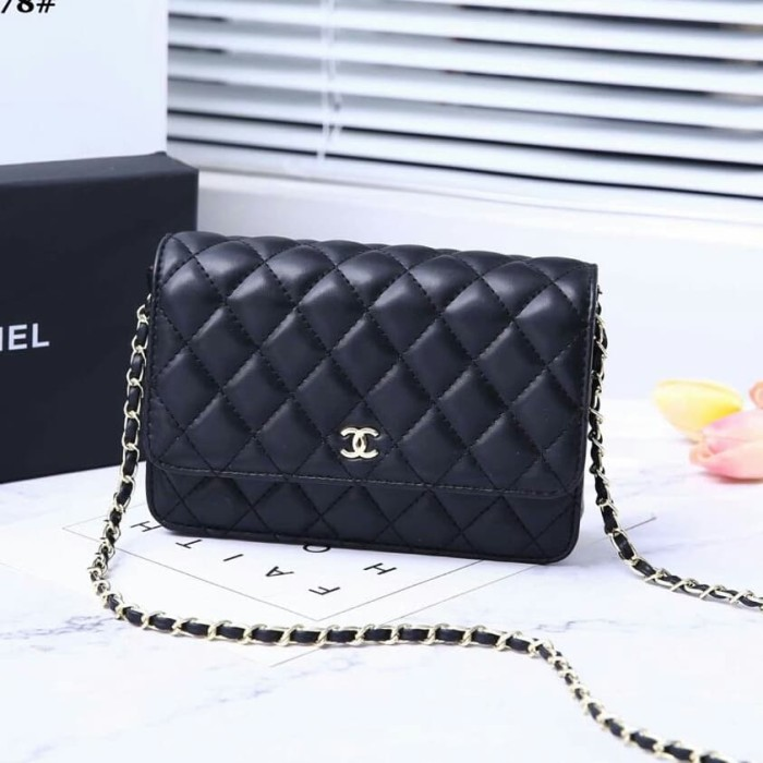 6626299bcfeb Jual CHANEL WOC LAMBSKIN WITH BOX VAL68078 - dhaffy collection ...