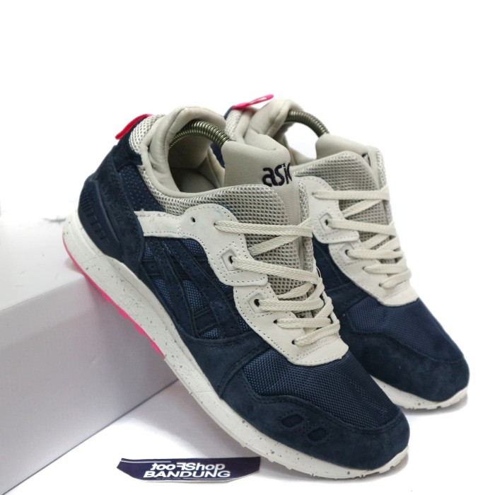 Sepatu Sneakers boots Asics Gel Lyte III 3 MT Mid india Ink Navy White 7362b3c4bf