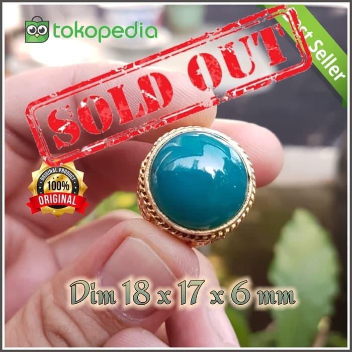 harga Batu natural bacan doko gulau color bluish green Tokopedia.com